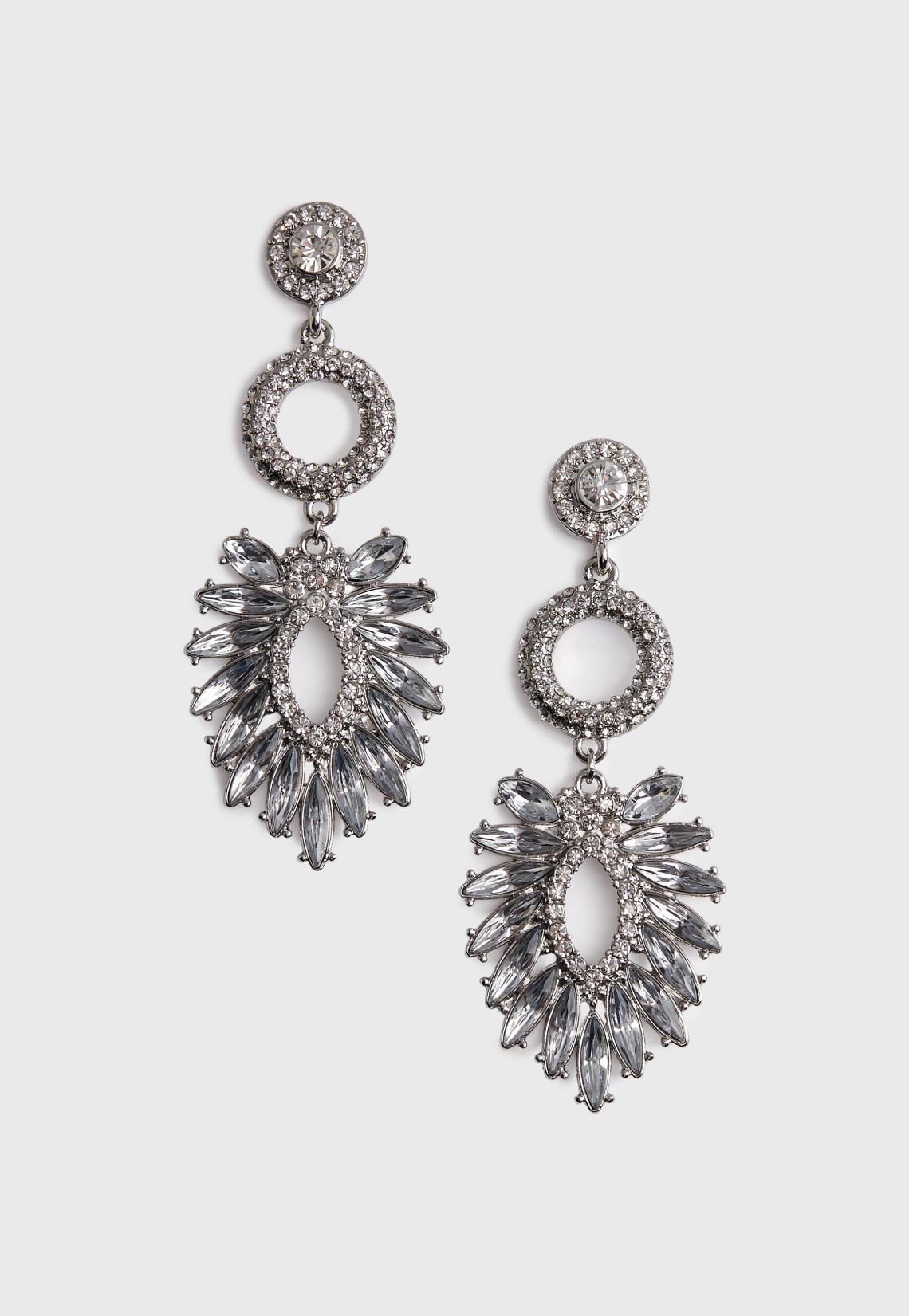 silver-triple-crystal-earrings